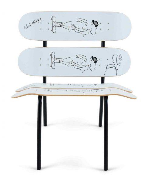 Lot-6_Yu-Nagaba_Skateboard-Bench