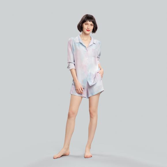 Angelababy推荐款Resort睡衣短套装 (1)