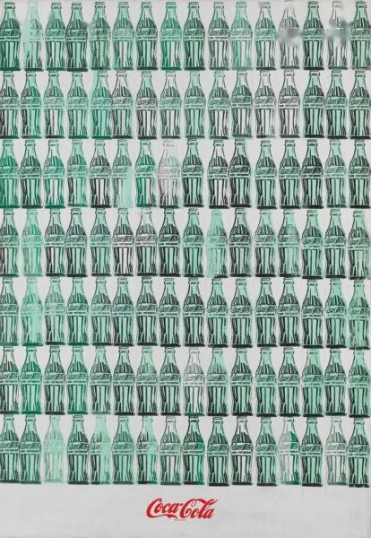 Green Coca-Cola Bottles, 1962, Andy Warhol (1928-1987)
