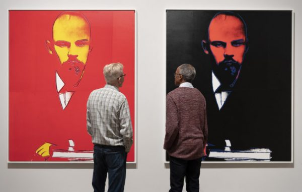 Press View of Andy Warhol Exhibition, Tate Modern, 2020.