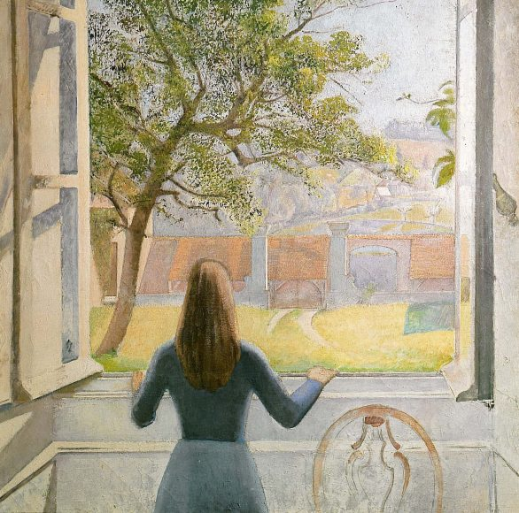 Balthus, Girl at a Window, 1957