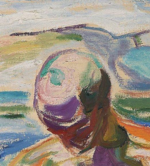 Edvard Munch, Bathing Man, 1918-details-03