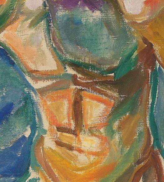 Edvard Munch, Bathing Man, 1918-details-06