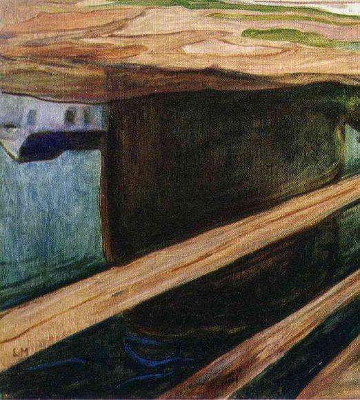 Edvard Munch, Girls on the Bridge, 1901-details-02