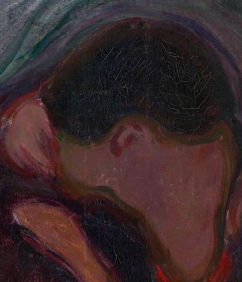 Edvard Munch, Kiss, 1897-details-02