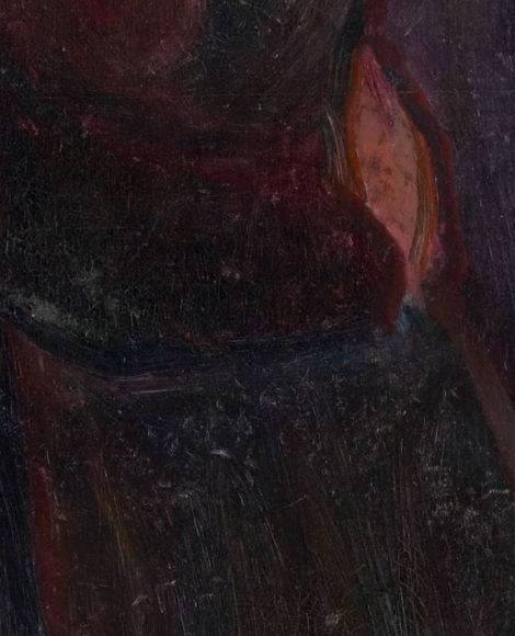 Edvard Munch, Kiss, 1897-details-05