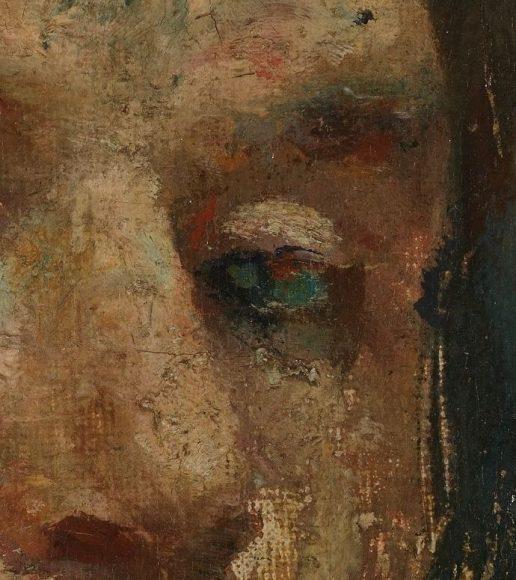 Edvard Munch, Self-Portrait, 1886-details-05