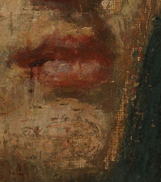 Edvard Munch, Self-Portrait, 1886-details-10