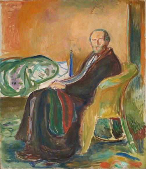Edvard Munch, Self-Portrait with the Spanish Flu