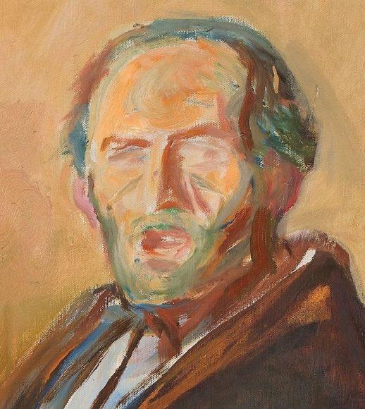Edvard Munch, Self-Portrait with the Spanish Flu, 1919-details-02