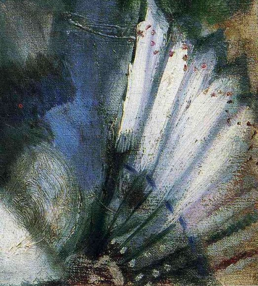 Marc Chagall, Bride with Fan, 1911-details-05