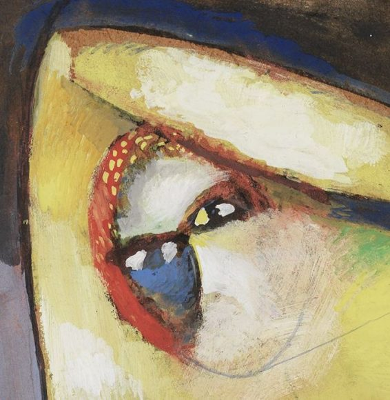 Marc Chagall, Nude, 1913-details-01
