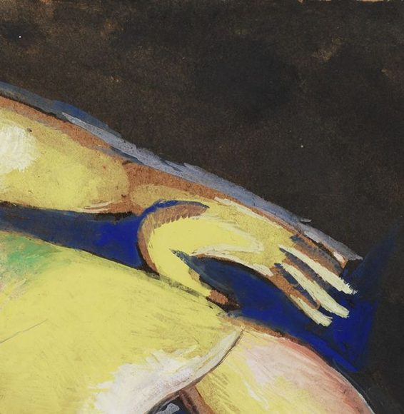 Marc Chagall, Nude, 1913-details-03
