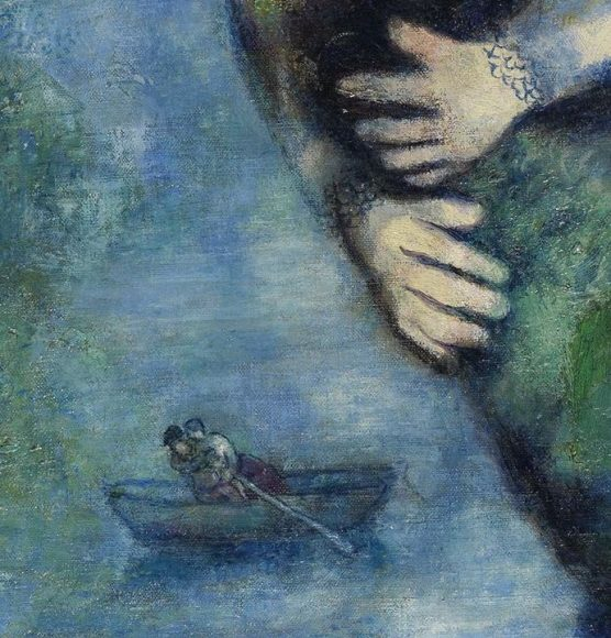 Marc Chagall, The Cock, 1928-details-03