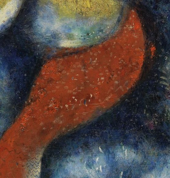 Marc Chagall, The Cock, 1928-details-07