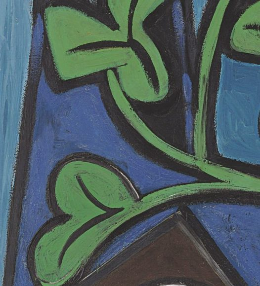Pablo Picasso, Nude, Green Leaves and Bust, 1932-details-04
