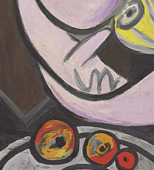 Pablo Picasso, Nude, Green Leaves and Bust, 1932-details-08