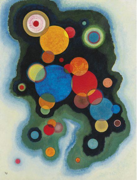 Kandinsky, Deepened Impulse, 1928