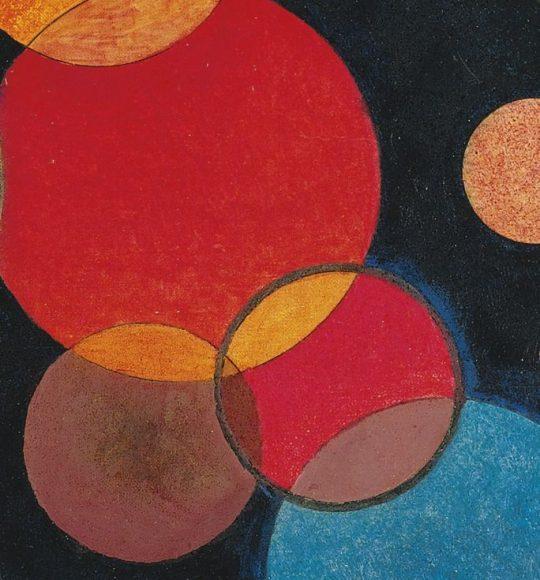 Kandinsky, Deepened Impulse, 1928-details-07