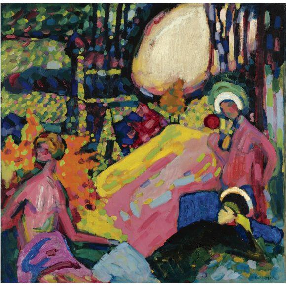 Kandinsky, White Sound, 1908
