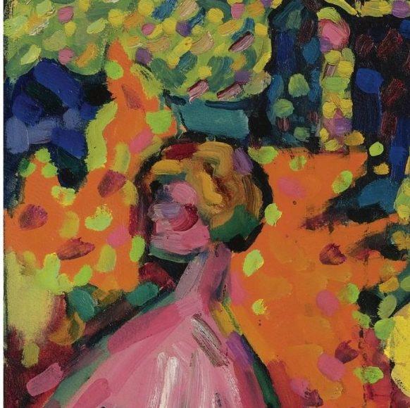 Kandinsky, White Sound, 1908-details-04