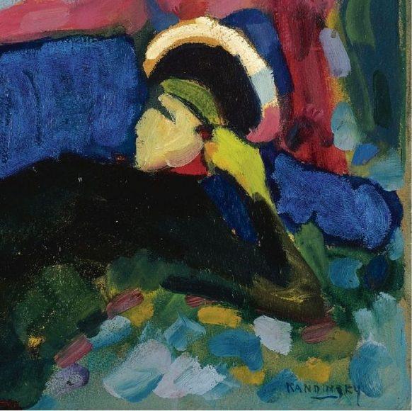 Kandinsky, White Sound, 1908-details-09