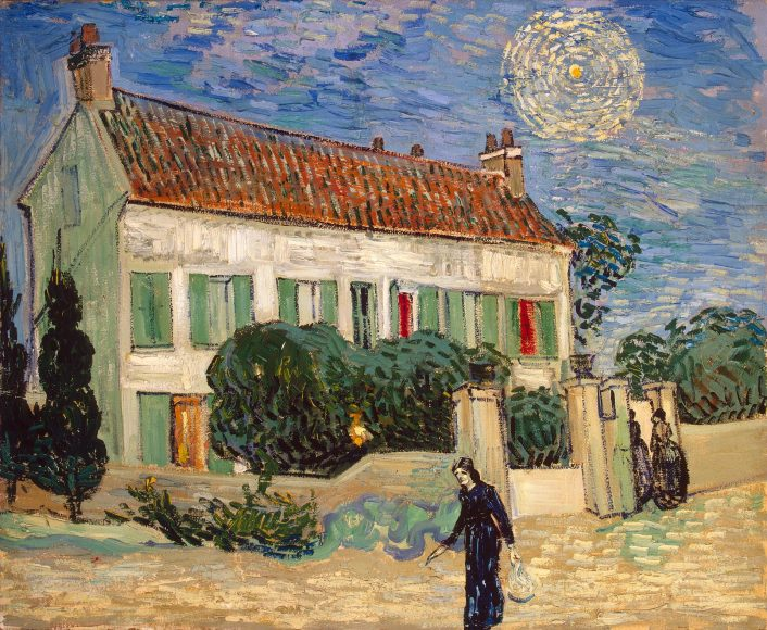 Vincent Van Gogh, White House at Night, 1890