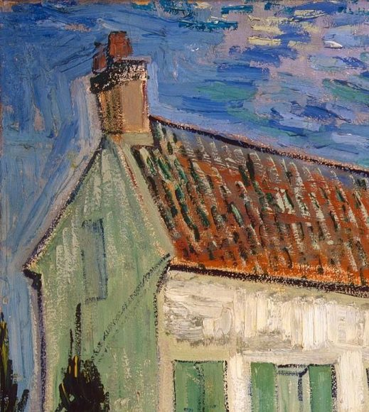 Vincent Van Gogh, White House at Night, 1890-details-01