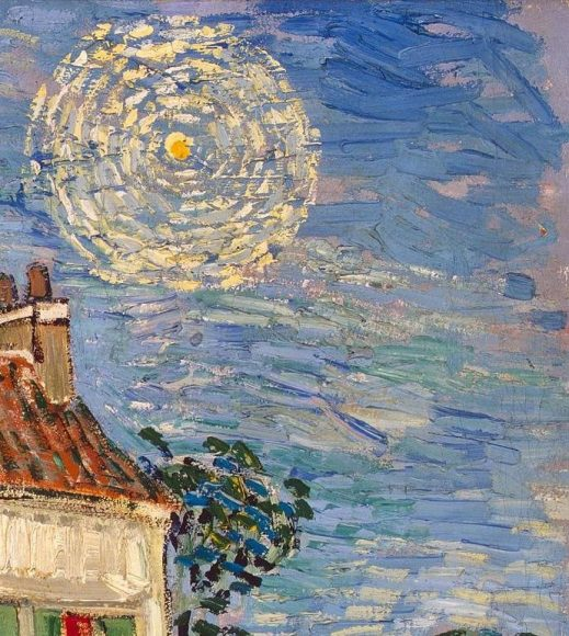 Vincent Van Gogh, White House at Night, 1890-details-03