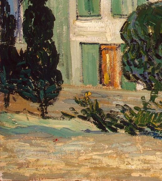 Vincent Van Gogh, White House at Night, 1890-details-04