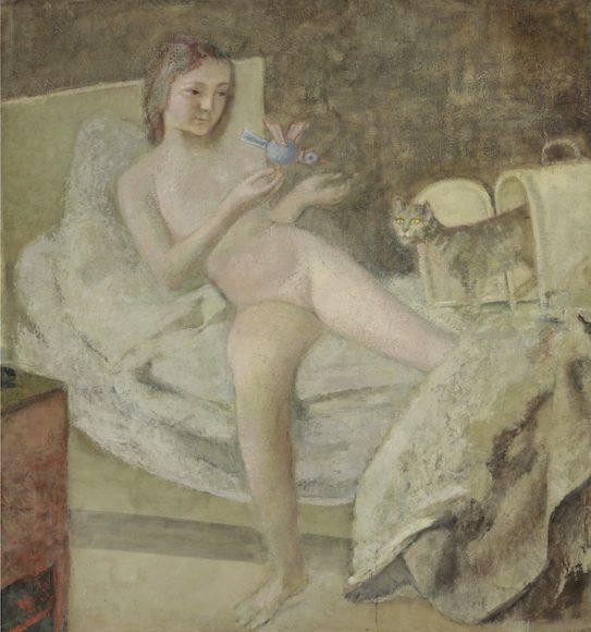 Balthus, Le lever , 1975 – 1978_web