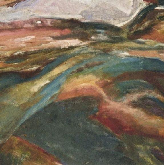 Edvard Munch, Coastal Landscape, 1918-details-05
