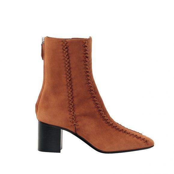 44 绒面山羊皮短靴