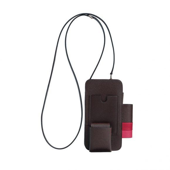 8 Hermesway Epsom小牛皮手机包