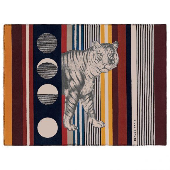 88 Tigre bayadère羊绒毯