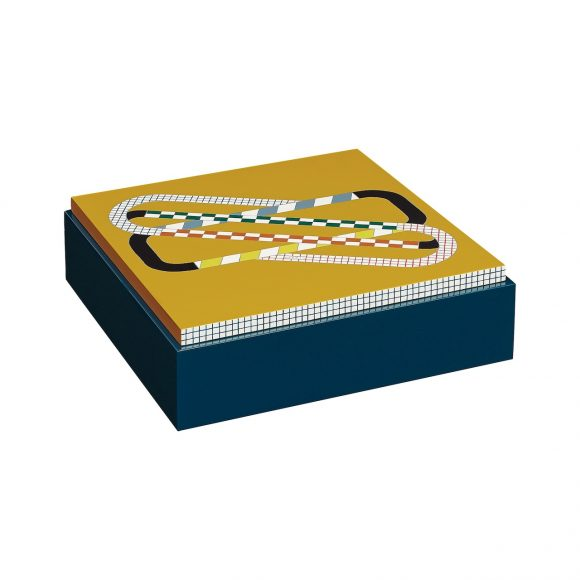 89 Théorème Round and Round手绘漆面置物盒