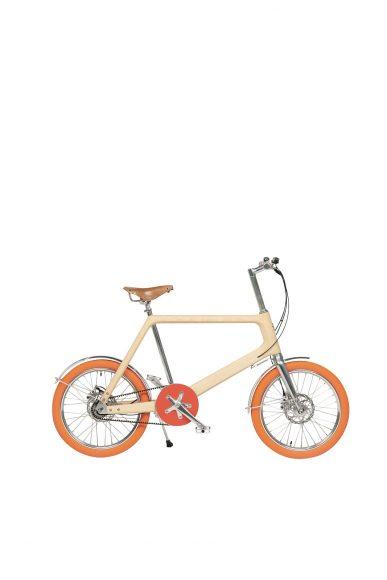 98 白蜡木配小公牛皮自行车